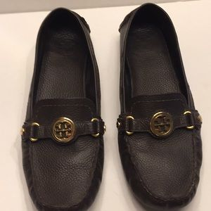 Tory Burch brown loafers